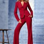 bordo cepli ceket ve pantolon takım trendi