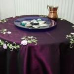 brezilya nakışlı fiskos masa örtüsü