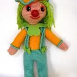 cadaloz kız örgü oyuncağı örneği
