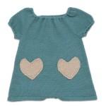 cebi kalpli bebek elbisesi