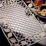 dantel anglez en güzel sehpa örtü örnekleri