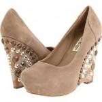 dolgu topuk taşlı ayakkabı modelleri