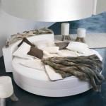 en güzel kürklü yuvarlak yatak örtüleri