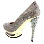 en trend taşlı ayakkabıörnekleri