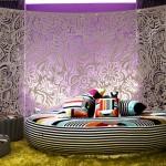 en yeni yuvarlak yatak örtü modelleri