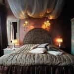 eskitme nostaljik yatak odası tasarımı