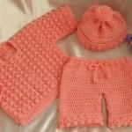 farklı en cici bebek örgü kıyafetleri