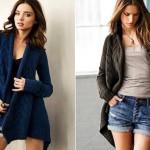 farklı son moda bayan hırkaları