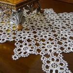 gümüşlük dantellere en güzel örnekleri