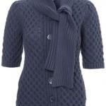 gri yakası flarlı ceket modeli örneği