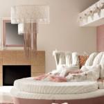 harika yuvarlak yatak örtü modelleri