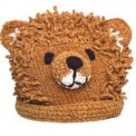 hayvan figürlü örgü bebek şapkaları