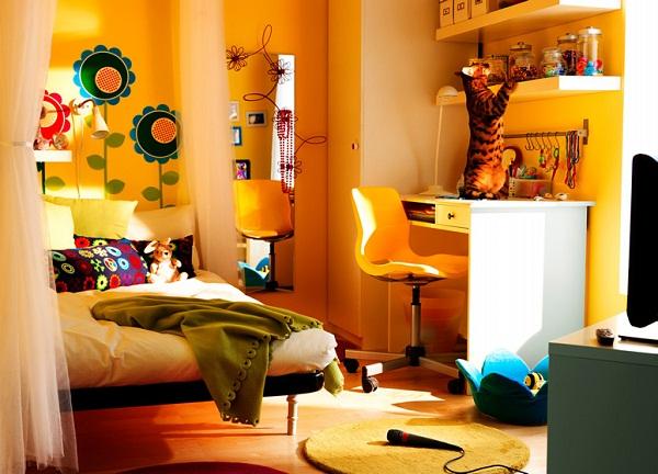 ikea en güzel genç odası dizaynı