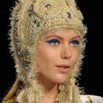 ilginç tasarım örgü şapka modelleri