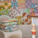 kırkyama patchwork ten esinlenilen duvar modelleri