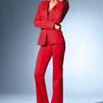 kırmızı takım elbise modeli
