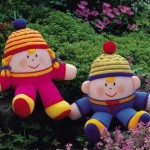 kız çocukları için rengarenk örgü oyuncak örnekleri