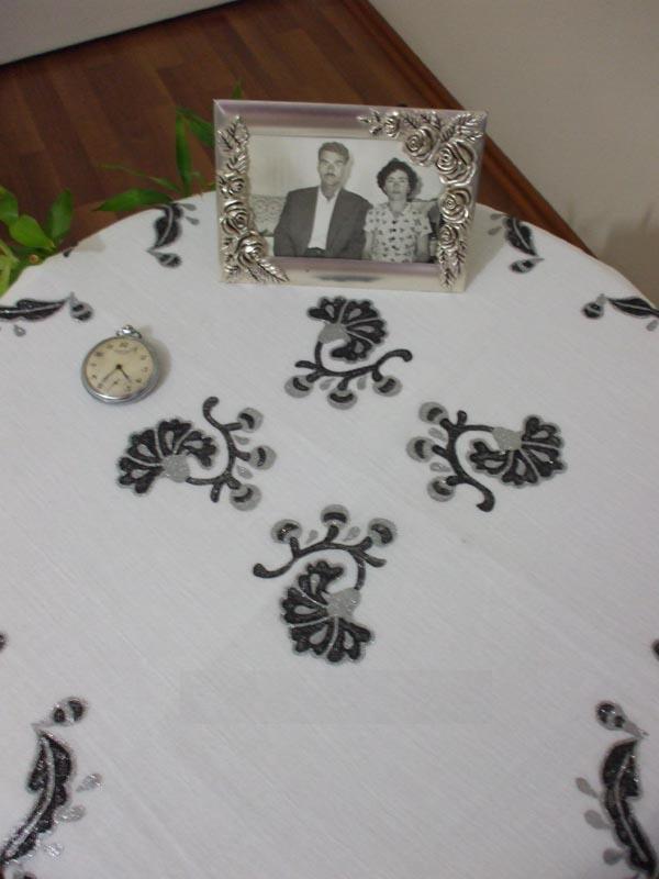 kumaş boyama fiskos masa örtüsü