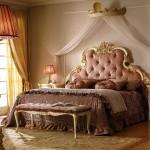 lüks klasik yatak odası modeli