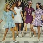 mavi beyaz mor  lila mini elbise modelleri örnekleri