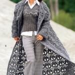 modern fileli kazak ve pardesü modelleri