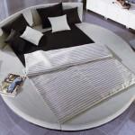 modern tasarım yuvalak yatak örtüleri