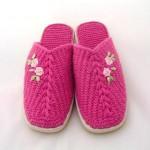 nakışlı patik çorap terlik modelleri