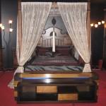 osmanlı tasarım klasik cibinlikli yatak odası modeli