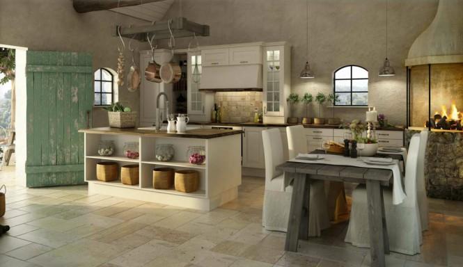 otantik hazır mutfak modelleri