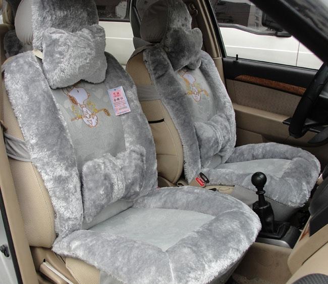 peluş araba koltuğu örtüleri