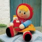 rengarenk kız bebek oyuncak örneği