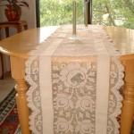 sıradışı dikdörtgen fiskos masa örtü örnekleri