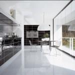 siyah beyaz hazır mutfak resimleri