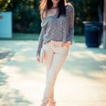 son moda dar paça pantolon örnekleri