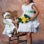 tığdan harika kız çocuk elbise örnekleri