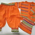turuncu çocuk takımı