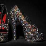 yeni sezon taşlı ayakkabı modelleri
