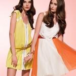 çok şık yazlık 2012 modası elbiseler
