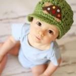 çok güzel bebek şapkası örnekleri