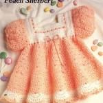 çok tatlı tığ işi bebek elbiseleri