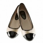 şık modern sade babet ayakkabı modelleri