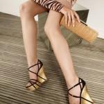 2012 dolgu topuk ayakkabı modası