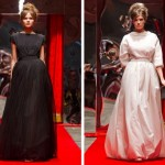 2012 ilginç bayan giyim elbiseleri