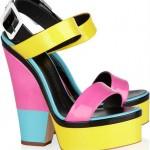 2012 kalın topuk ayakkabı modası modelleri