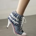 2012 modası jean ayakkabı modelleri