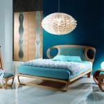 ahşap yatak odası modeli