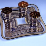 antika otantik harika çay tepsileri