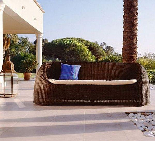 bahçe mobilya koltuğu