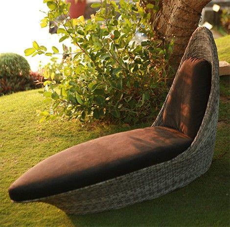 bahçe mobilyası uzanma koltuğu