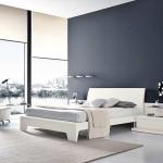 beyaz lake yatak odası mobilyası